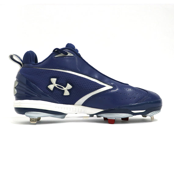 Spikes Beisbol Under Armour Bomber Mid Azul