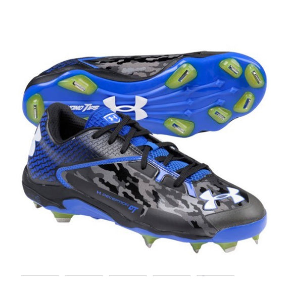 Spikes Beisbol Under Armour Deception Low Azul Rey Camu
