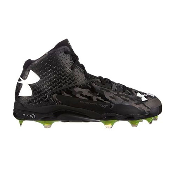 Spikes Beisbol Under Armour Deception Mid Negro Camu