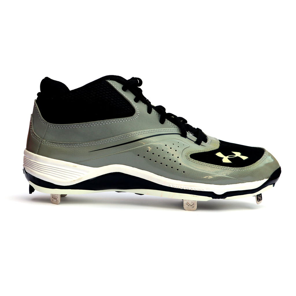 Spikes Beisbol Under Armour Ignite Gris Negro