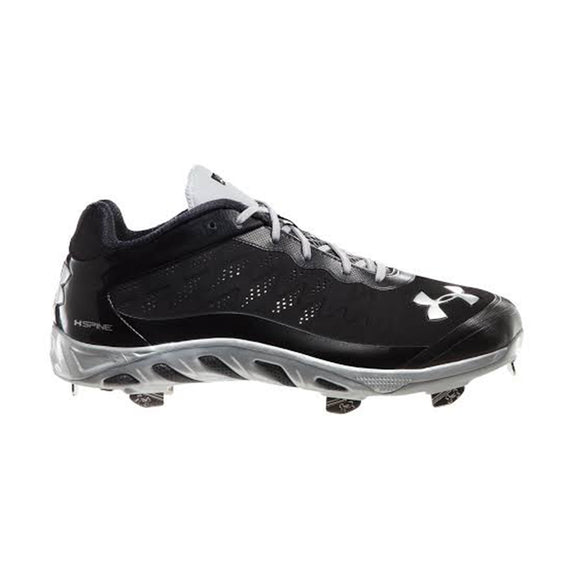 Spikes Beisbol Under Armour Spine Low Negro