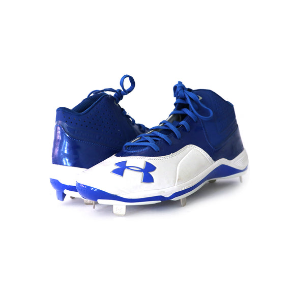 Spikes Beisbol Under Armour TPU Mid Blanco Rey