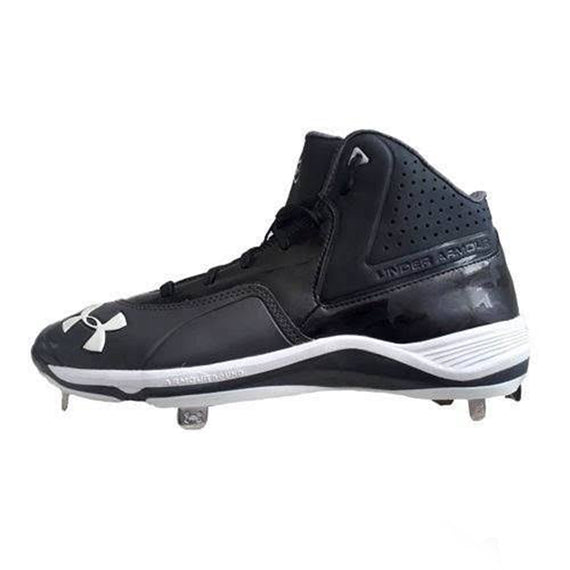Spikes Beisbol Under Armour TPU Mid Negro