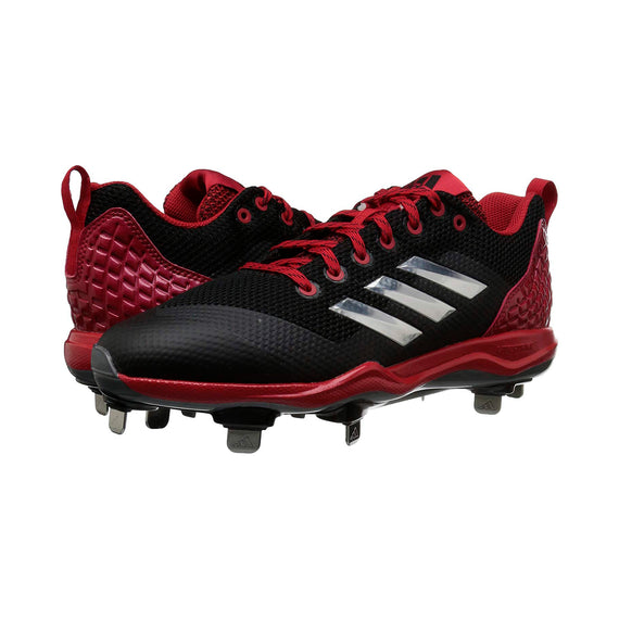 Spikes Beisbol Adidas Power Alley 5 Negro Rojo