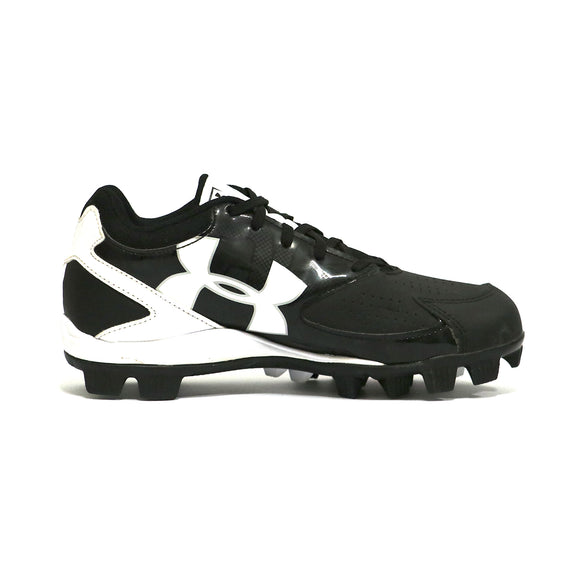 Spikes Beisbol Softbol Under Armour Ruber Low Negro INFANTIL