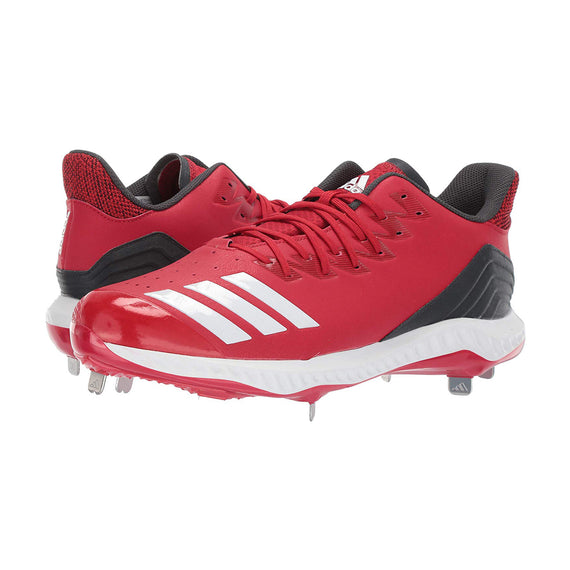 Spikes Beisbol Adidas Icon 4 Bounce Rojo