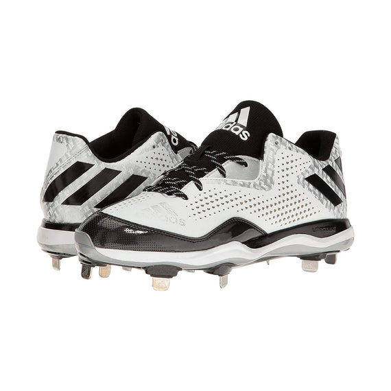 Spikes Beisbol Adidas PowerAlley 4 Blanco