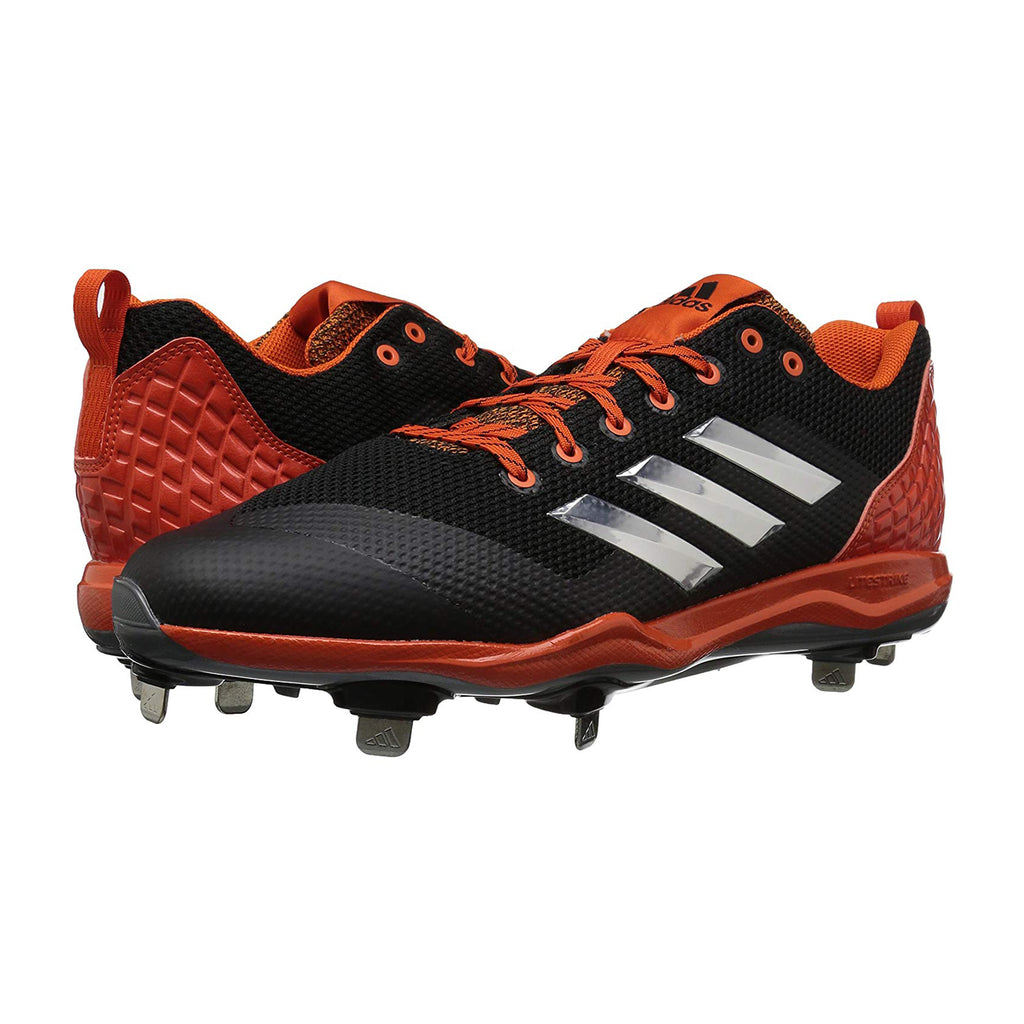 Spikes Beisbol Adidas Power Alley 5 Negro Naranja