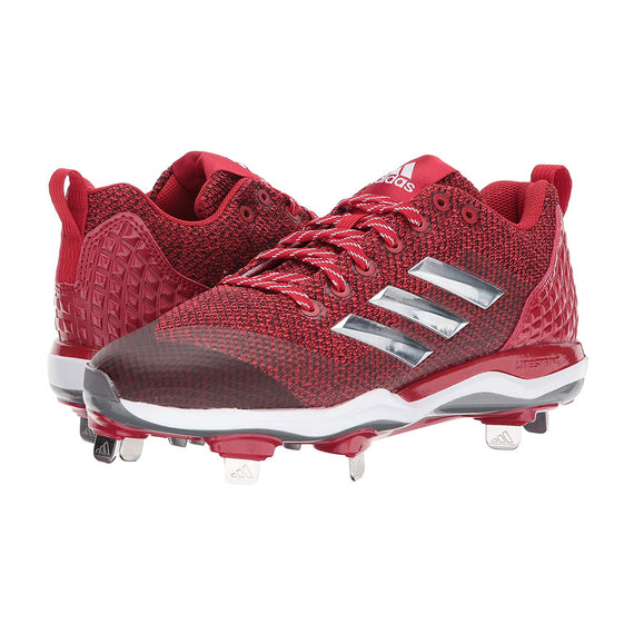 Spikes Beisbol Adidas Power Alley 5 Rojo