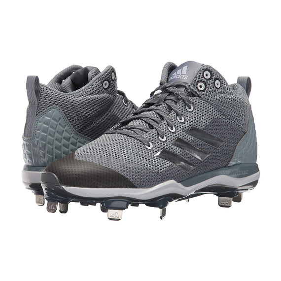 Spikes Beisbol Adidas Power Alley 5 Mid Gris