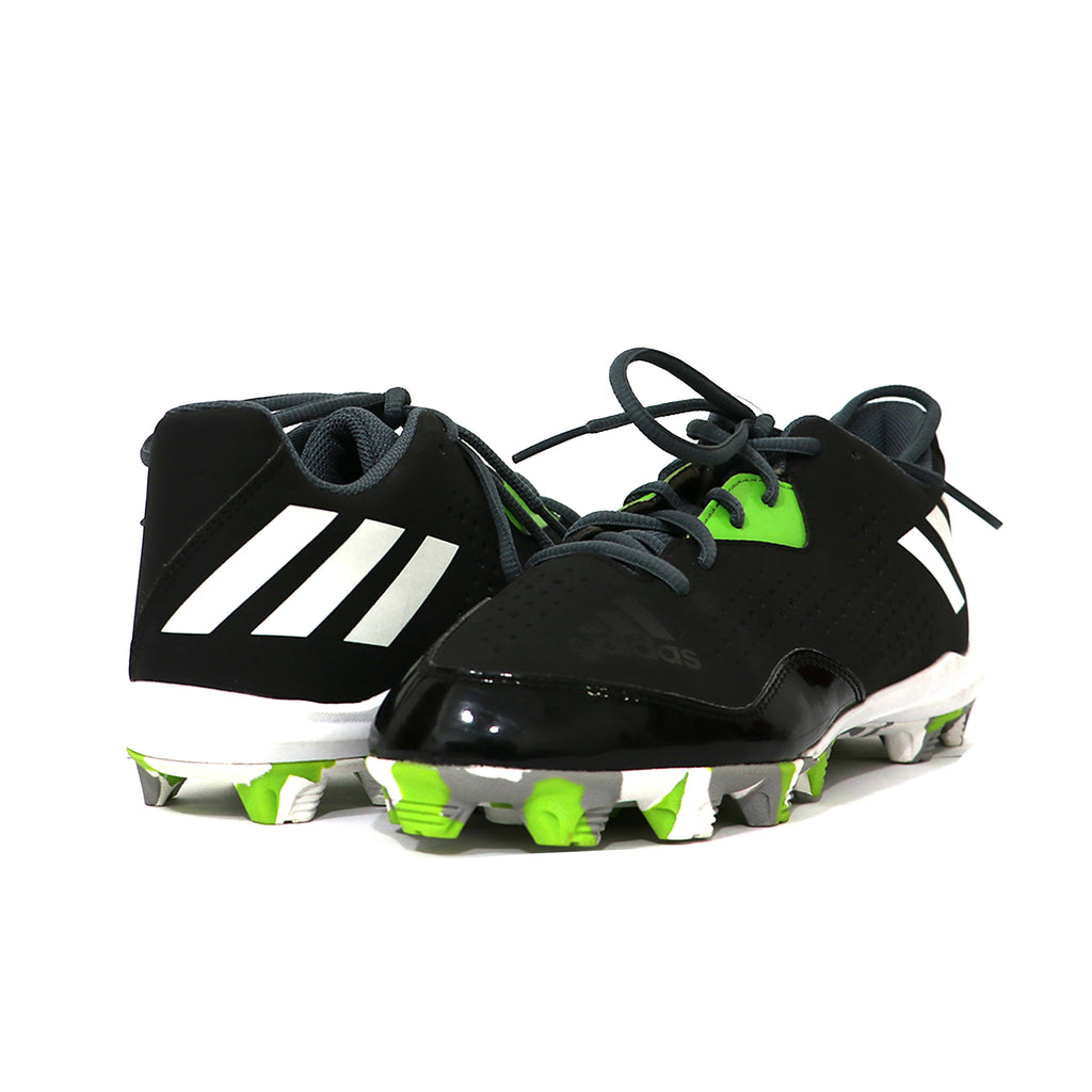 Spikes Beisbol Softbol Adidas Whell House 4 Low Negro Verde