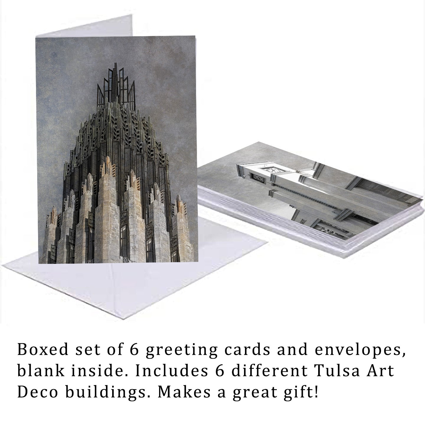 Art Deco Blank Note Cards
