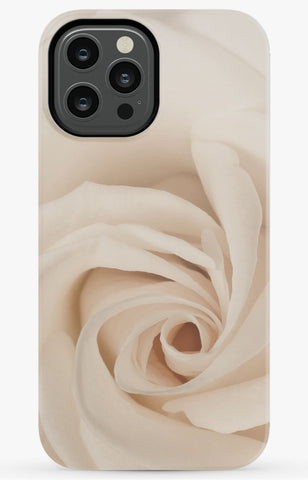 Cream Rose Phone Case