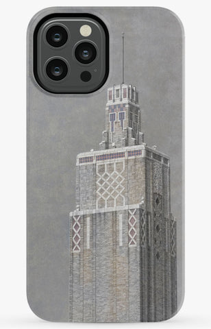 Tulsa Warehouse Market Tower Phone Case