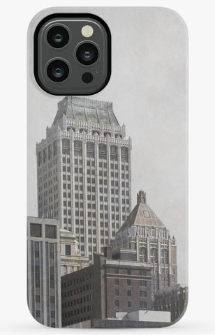Tulsa Mid Continent Tower Phone Case