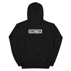 TheDirector Hoodie - Black [Icon On Front // DIRECTOR On Back]
