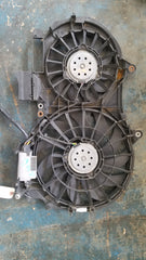 AUDI A4 B6 2004 CONVERTIBLE ENGINE COOLING TWIN RADIATOR FAN 8E0121205P