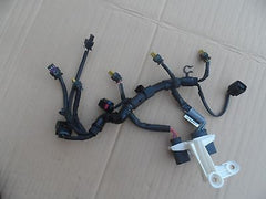 2013 13 14 AUDI A4 OEM 2.0T ENGINE FUEL INJECTORS WIRING HARNESS 06H 971 627B - USEDPARTSRUS