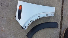 2002-2008 MINI COOPER R50 R52 SILVER LEFT FENDER FLARE LIGHT COMPLETE SET - USEDPARTSRUS