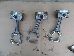 2006-2009 AUDI A4 A3  B7 2.0T PISTON AND CONNECTING ROD ACTUAL ITEMS PICTURED - USEDPARTSRUS