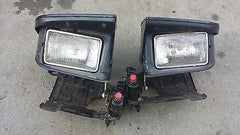 91 92 93 STEALTH HEADLIGHT BASE AND ES GENUINE LAMP LIGHT 44164 RIGHT & LEFT - USEDPARTSRUS