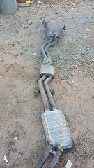 99-04 BMW E46 Muffler Exhaust 18107504168 Pipe System 323i 325i 328i 330i m52 m54 - USEDPARTSRUS