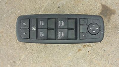 11 DODGE DURANGO DRIVER / LEFT SIDE MASTER POWER WINDOW SWITCH 68086693ac - USEDPARTSRUS