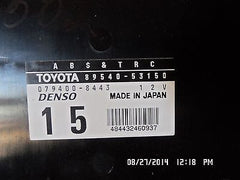 01-05 Lexus is300 OEM ABS anti lock traction control module 89540-53150 unit - USEDPARTSRUS