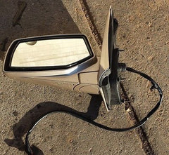 2004 2005 2006 CADILLAC SRX LEFT L/H DRIVER SIDE MIRROR POWER GOLD - USEDPARTSRUS