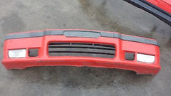1992-1998 BMW E36 3-Series Front Bumper Assembly with Fog Lights Red USED - USEDPARTSRUS