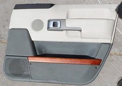 03-05 LAND ROVER RANGE ROVER L322 FRONT PASSENGER SIDE RIGHT DOOR TRIM PANEL - USEDPARTSRUS