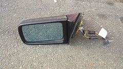 92-95 Mercedes W140 Sedan DRIVER SIDE LEFT Electric Folding Mirror 1408110161 - USEDPARTSRUS