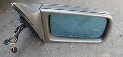 92-95 Mercedes W140 Sedan R/H PASSENGER Side Electric Folding Mirror 1408110161 - USEDPARTSRUS