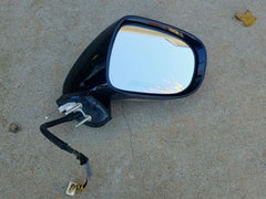 "2006 - 2008 Lexus IS250 IS350 Side Mirror Driver Left Side White OEM "" Tested "" - USEDPARTSRUS"