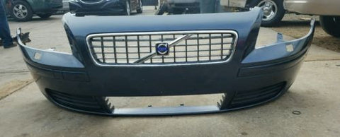 2004 2007 Volvo S40 Front Bumper Cover Navy Blue 30657005 Usedpartsrus