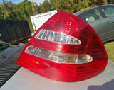 03-06 Mercedes W211 E500 E55 Tail Light Tail Lamp Rear Right Passenger Side OEM - USEDPARTSRUS