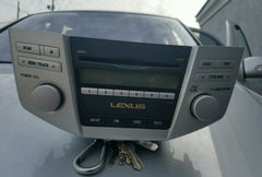 07-09 Lexus RX350 Radio 6 Disc Cd MP3 Player P1806 86120-0E030 - USEDPARTSRUS