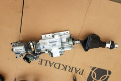 06 LAND RANGE ROVER L322 HSE STEERING COLUMN QMB500691 FLOOR SHIFT MEMORY ASSEMBLY OEM