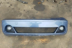 04 05 06 BMW E46 330ci 325ci COUPE FRONT BUMPER COVER W/FOGS OEM painting needed