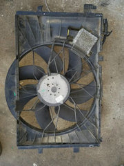 02-05 Mercedes W203 W209 C230 CLK320 Cooling Fan with Shroud 2035000293 - USEDPARTSRUS