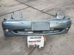 2004 JAGUAR X-TYPE FRONT BUMPER COVER W/FOG LIGHTS side marker lights OEM