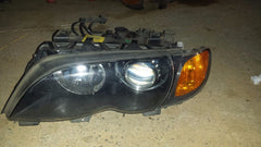 02-05 BMW M3 E46 320i 325i 330i XENON HEADLIGHT LEFT DRIVER SIDE 631271657 - USEDPARTSRUS