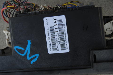 07 dodge ram tipm totally integrated power module relay fuse box  p04692118af - usedpartsrus