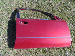 1998-2005 LEXUS GS300 PASSENGER SIDE RIGHT SIDE FRONT DOOR SHELL MAROON - USEDPARTSRUS