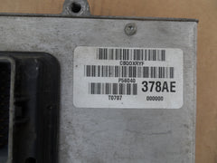 1997 Dodge dakota 3.9L engine control computer p56040378ae 378ae ecu ecm pcm - USEDPARTSRUS
