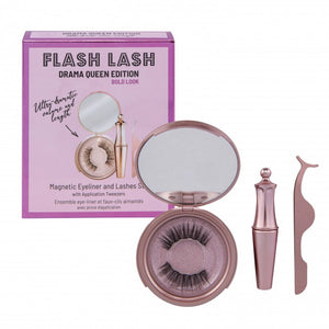ARIA Flash Lash Magnetic Eyeliner & Eyelashes With Tweezer