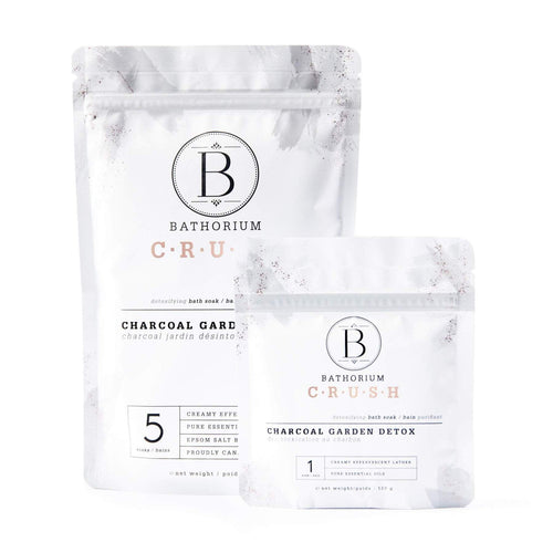BATHORIUM CHARCOAL GARDEN DETOX CRUSH