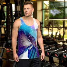 Load image into Gallery viewer, Starflurry Eagle Royal Unisex Tank Top
