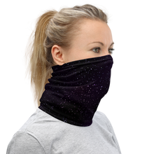 Load image into Gallery viewer, Star Field Purple Unisex Neck Gaiter
