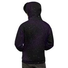 Load image into Gallery viewer, Starlight Fields Purple Unisex Hoodie